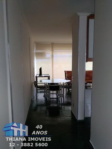 apartamento mobiliado para locação - vista para o mar