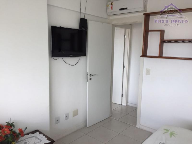 apartamento mobiliado para temporada em salvador, caminho das arvores, 2 dormitórios, 1 suíte, 2 banheiros, 1 vaga - 729