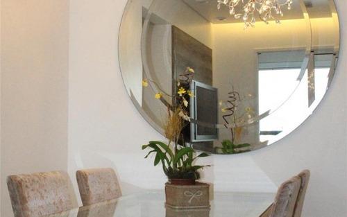 apartamento mobiliado para venda e  locação no morumbi - sp.