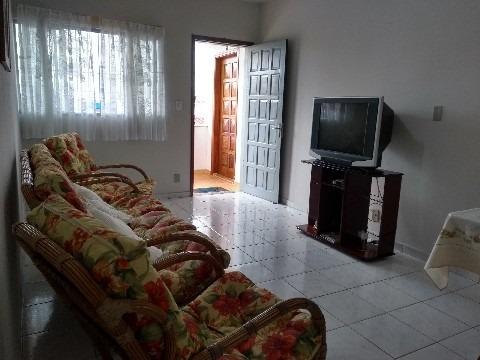 apartamento mobiliado para venda ou permuta no centro de caraguatatuba a 50m do mar - ap00395 - 32987057