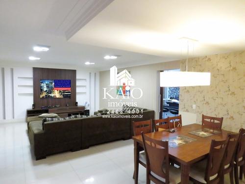 apartamento mobiliado place du soleil 165m 4 vagas 3 suítes