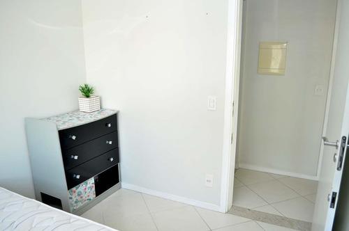 apartamento mobiliado próximo  beira mar - 72911