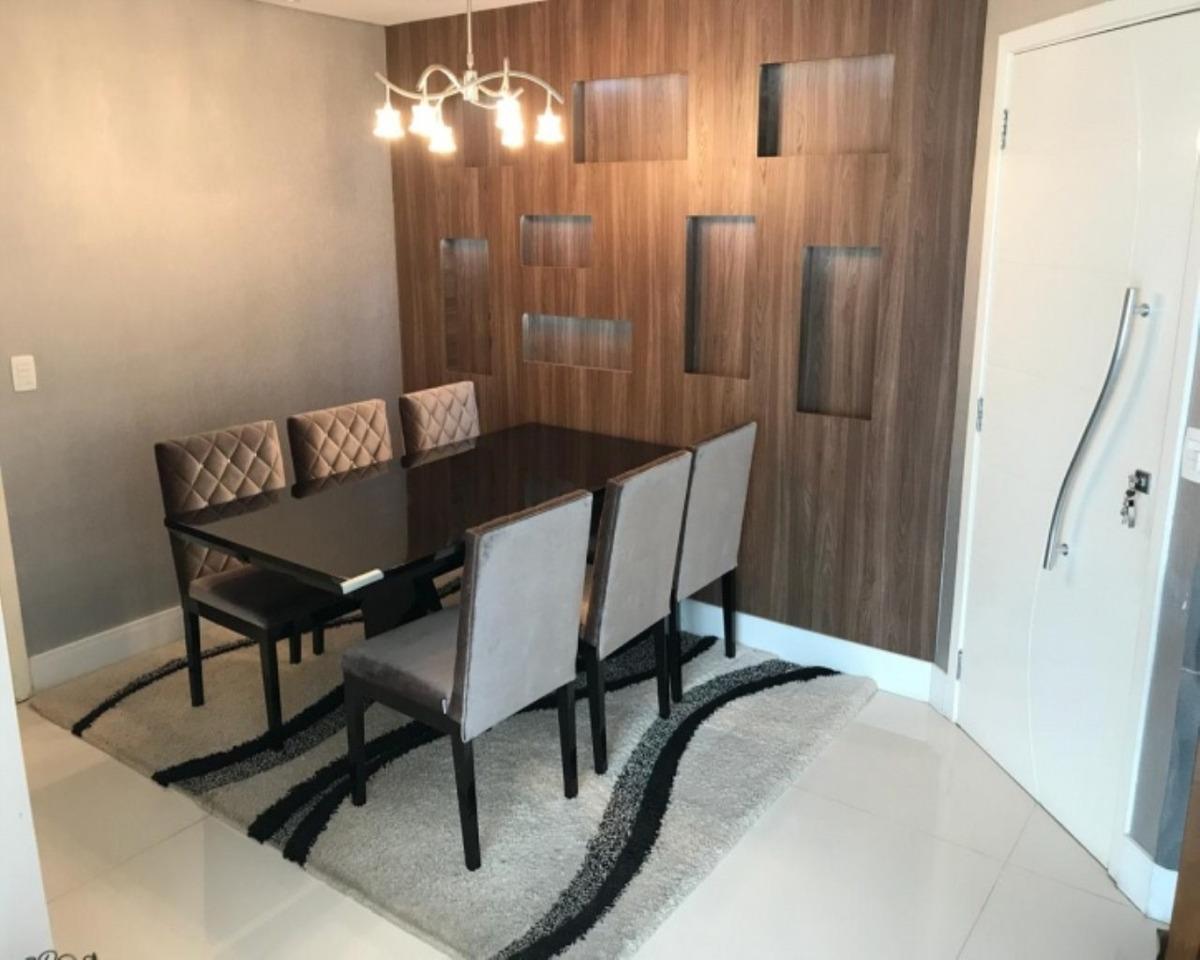 apartamento mobiliado à venda em são caetano do sul. - ap0666 - 34651627