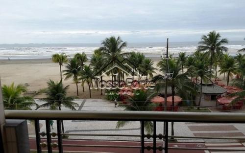 apartamento mobiliado vista para o mar na praia grande