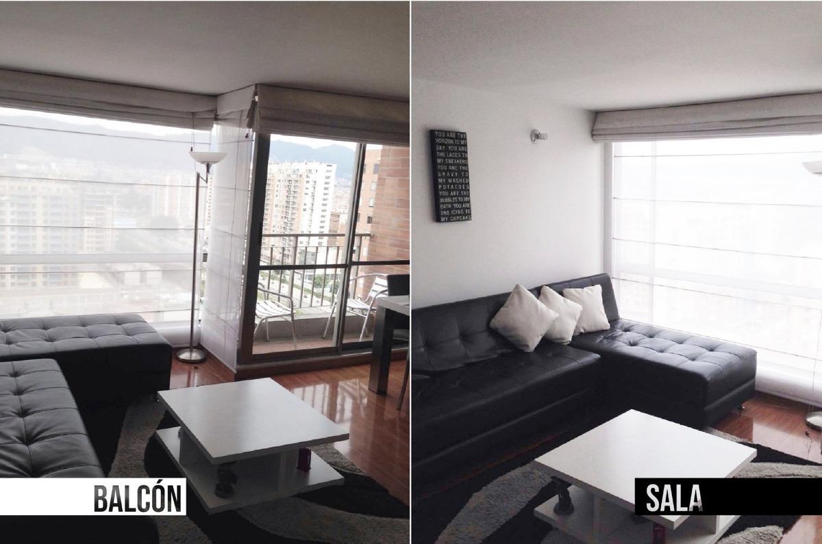 apartamento moderno colina campestre piso 17 - muy económico
