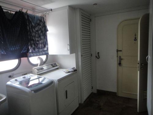 apartamento moema índios  - são paulo - ref: 484482