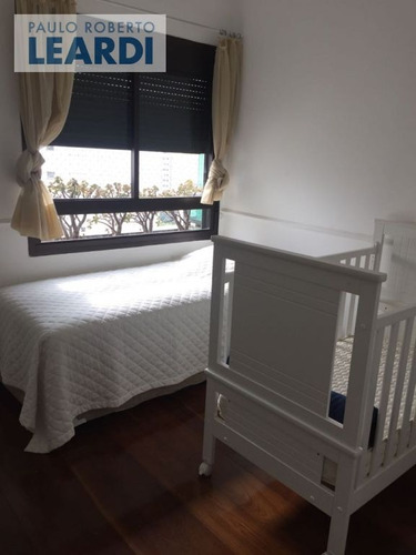 apartamento moema índios  - são paulo - ref: 552367
