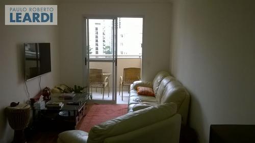 apartamento moema pássaros  - são paulo - ref: 449856