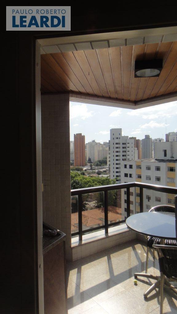 apartamento moema pássaros  - são paulo - ref: 488676