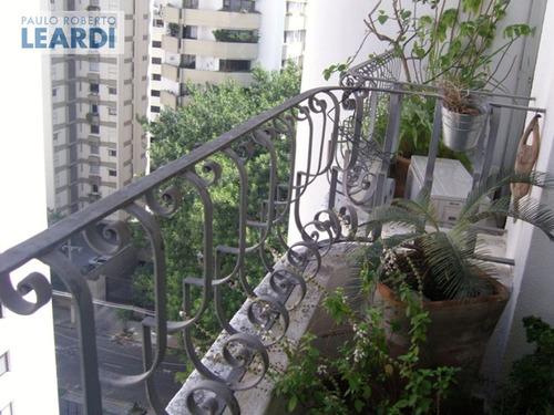 apartamento moema pássaros  - são paulo - ref: 490084