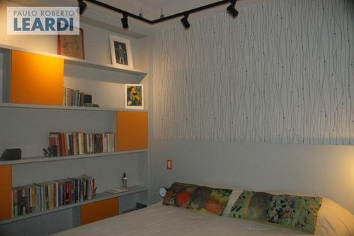apartamento moema pássaros  - são paulo - ref: 498171