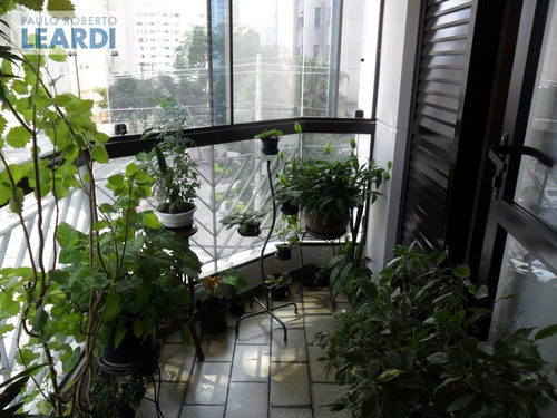 apartamento moema pássaros  - são paulo - ref: 500654