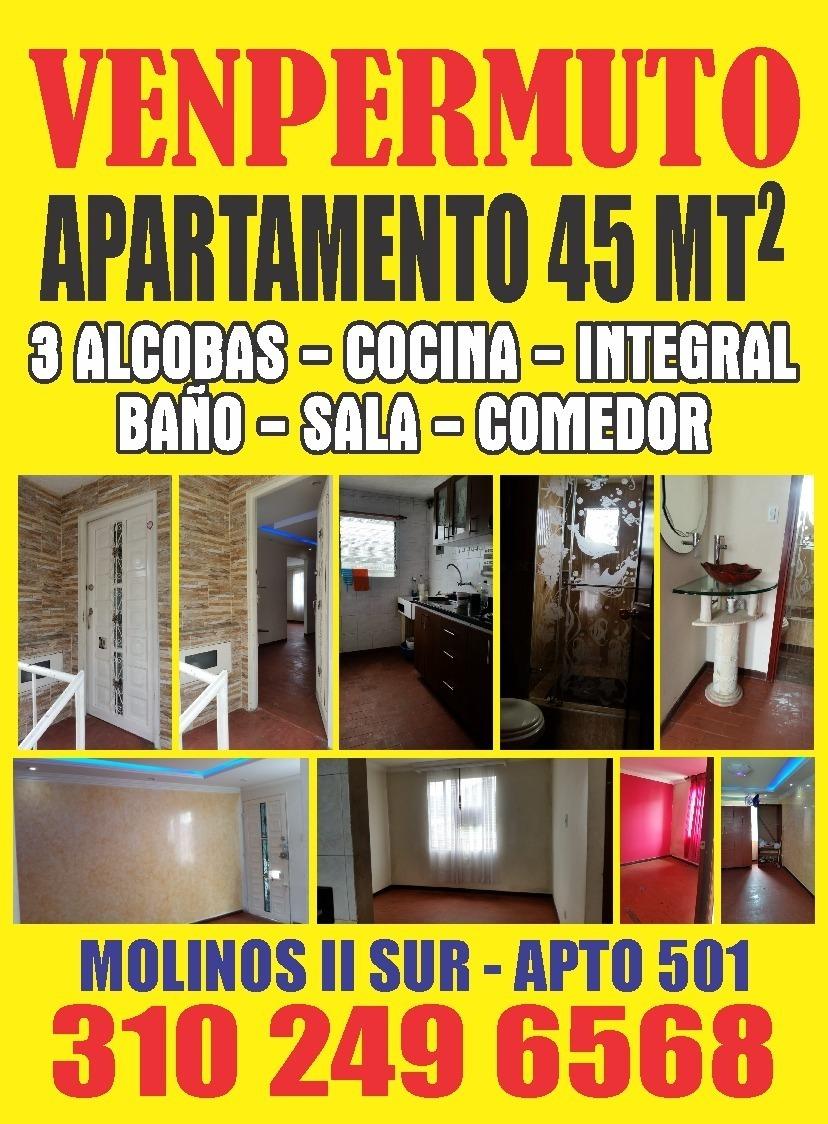 apartamento molinos 2 en bogotá