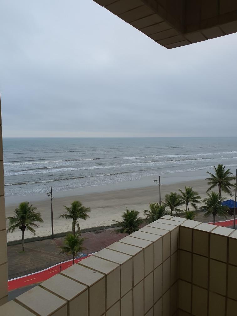 apartamento mongaguá  frente ao mar