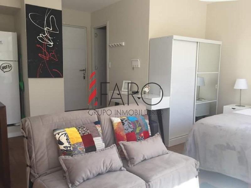 apartamento monoambiente en península con garage-ref:35952