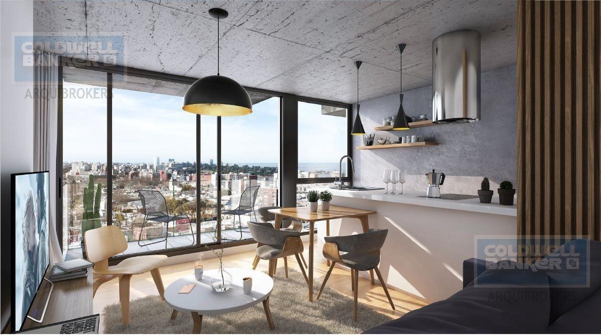 apartamento monoambiente en venta en cordón