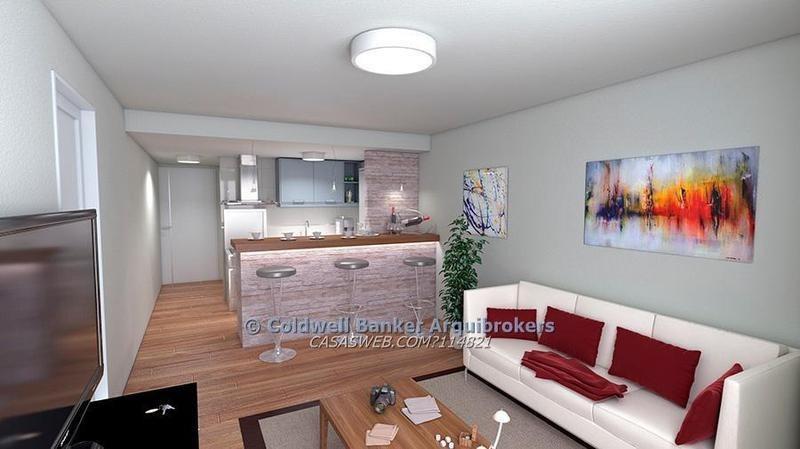 apartamento monoambiente en venta en pocitos nuevo
