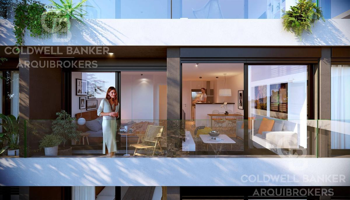 apartamento monoambiente en venta en tres cruces