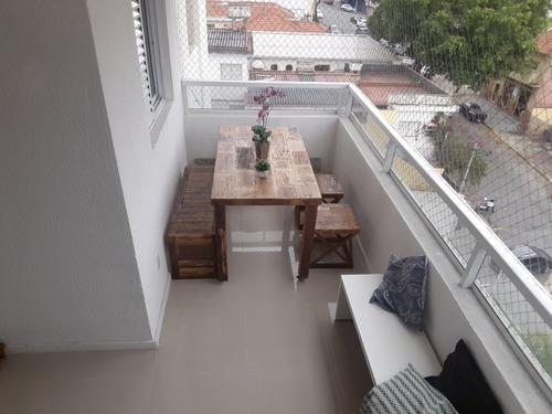 apartamento moóca 2 suítes 3 dormitórios 2 banheiros 1 vagas 74 m2 - 2276