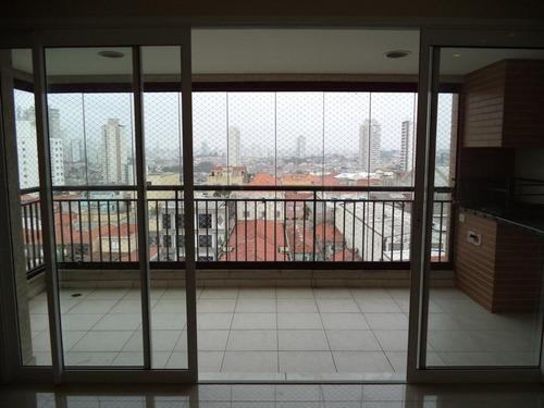 apartamento mooca 96m2 3 quartos 1 suite varanda gourmet 2 gars prédio lazer de clube - ag9