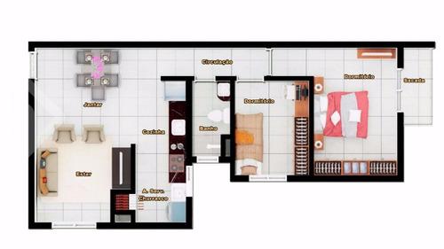 apartamento - moradas do sobrado - ref: 237849 - v-237849