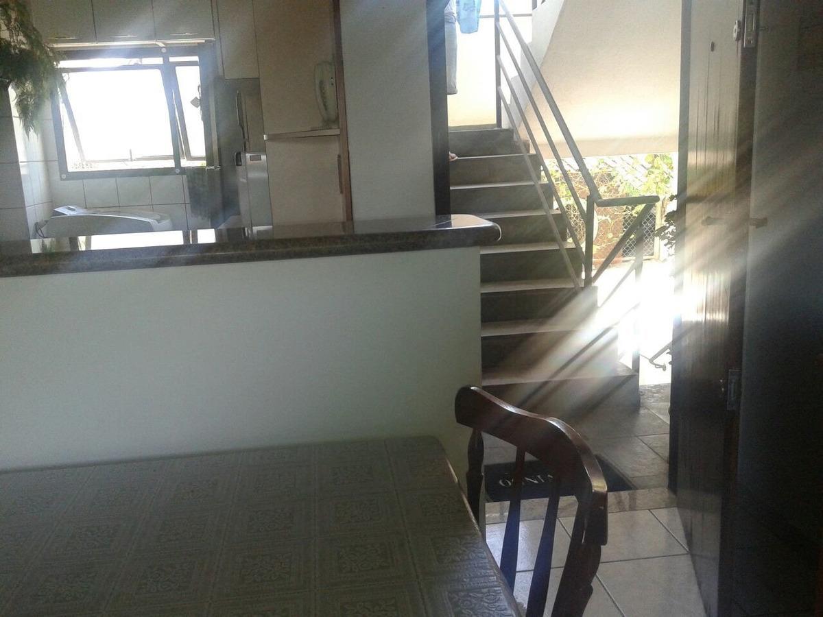 apartamento na av. da praia, no indaia com vista para o mar