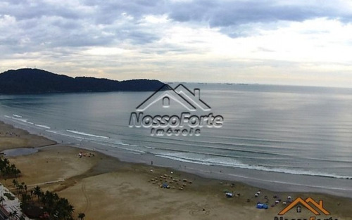 apartamento na guilhermina com vista para o mar em praia grande