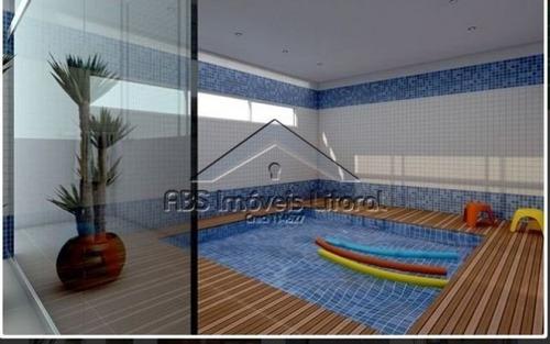 apartamento na guilhermina em praia grande - ap 653