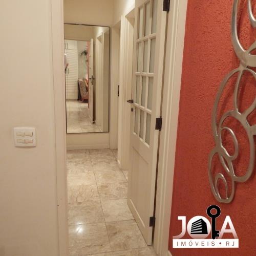 apartamento na lagoa - 3 quartos todo reformado - 281