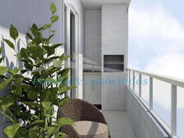 apartamento na ocian, 02 dormitórios sendo 01 suite - ap00753 - 3269362