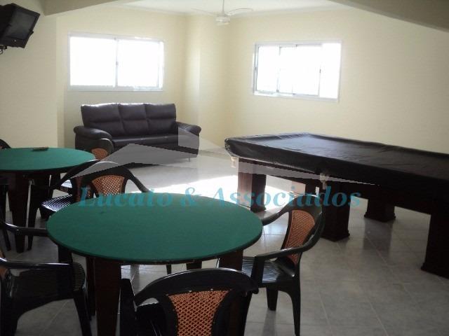 apartamento na ocian em praia grande sp, 03 dormitórios sendo 01 suíte, 02 vagas - ap00793 - 3274157
