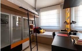 apartamento na planta com 40m², 02 dormitórios