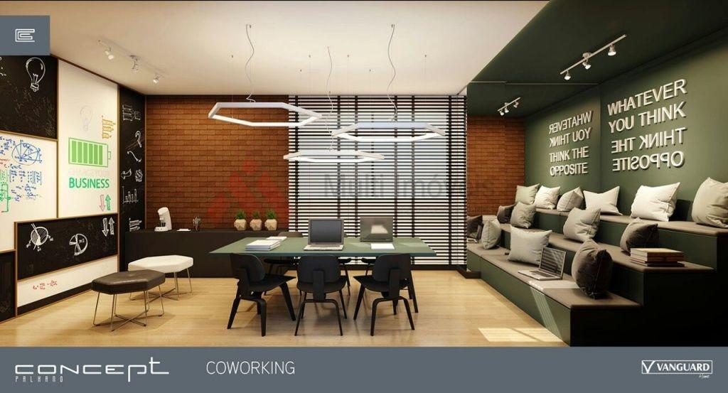 apartamento na planta, edifício concept - mi101