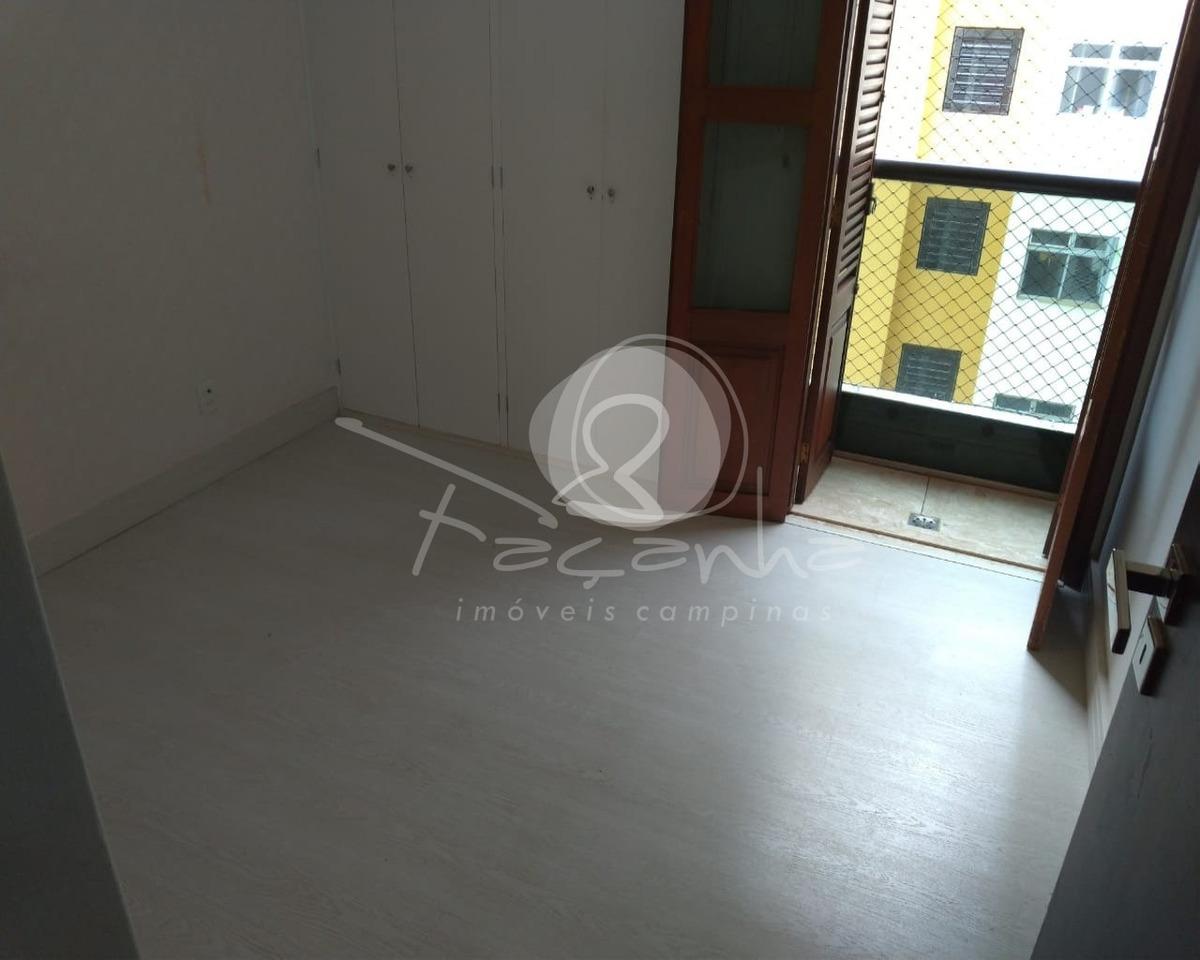 apartamento na praça santa cruz à venda no cambuí em campinas - ap02794 - 33641275