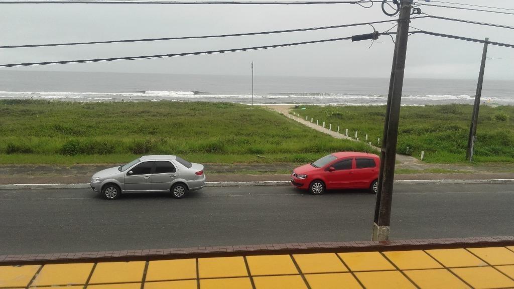 apartamento na praia com 3 dormitórios à venda, 120 m² por r$ 450.000 - balneário costa azul - matinhos/pr - ap1182