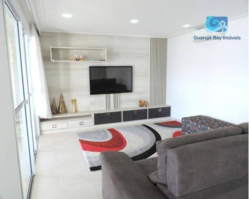apartamento na praia da enseada - guarujá - ap4660