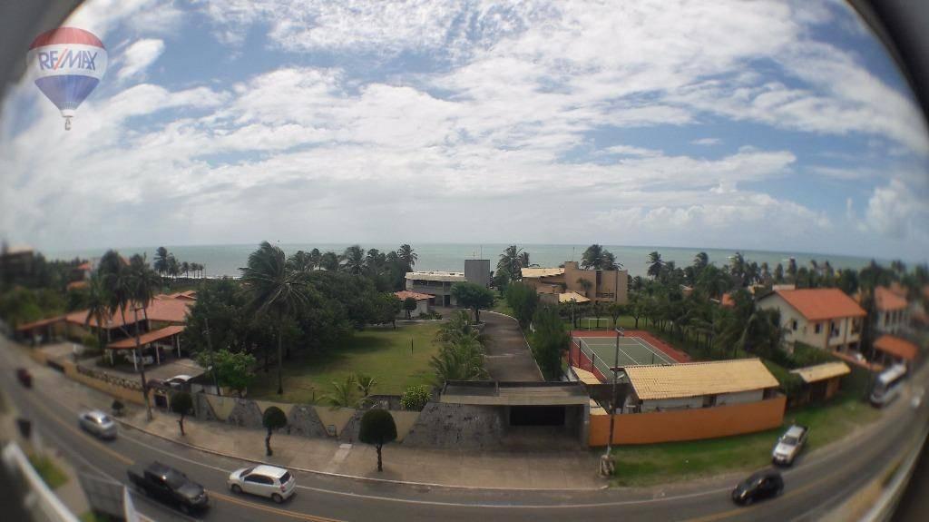 apartamento na praia do cumbuco com lazer completo - ap0093