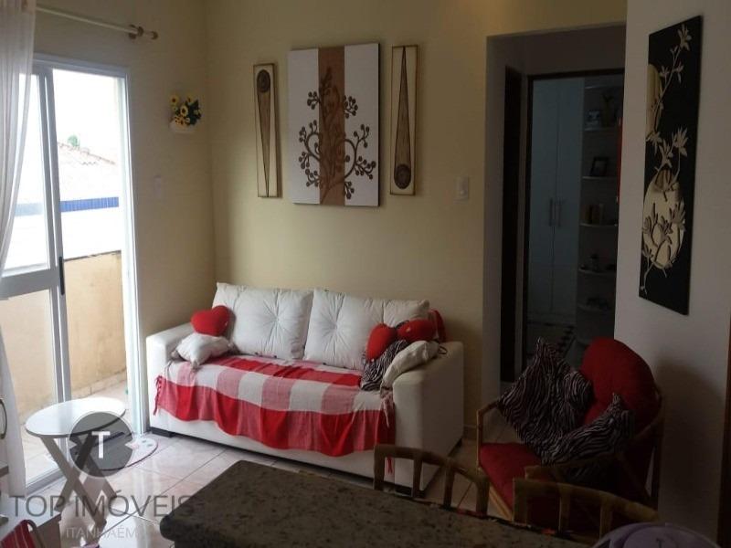 apartamento na praia do sonho muito bem localizado a 100 metros da praia - ap00008 - 33764371