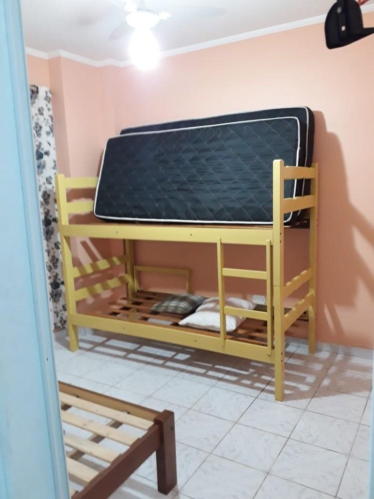 apartamento na praia grande em ótimas condições - vila tupi