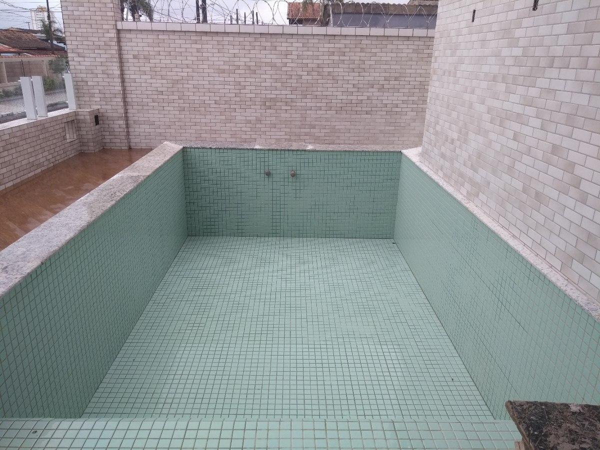 apartamento na praia r$ 240 mil com piscina cn734