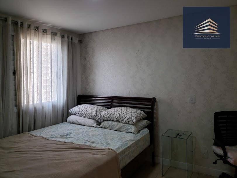 apartamento na vila augusta, 134m², 3 suítes, 2 vagas, parque clube, estuda permuta. - ap0803