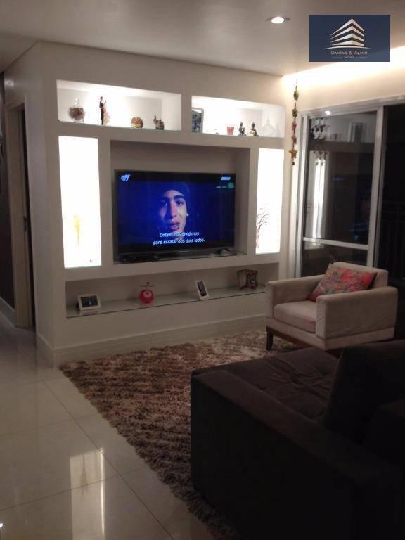 apartamento na vila augusta, condomínio parque clube, 92m² - aceita permuta menor valor. - ap0562