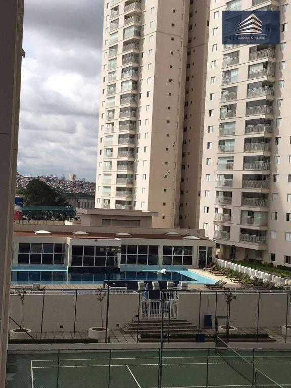 apartamento na vila augusta, condomínio supera 128m², 3 vagas, vista livre. - ap0377