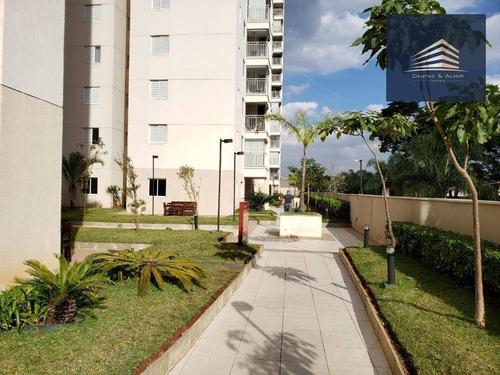 apartamento na vila augusta, condomínio suprema 64m², 2 dormitórios, 1 suíte, 1 vaga. - ap0778