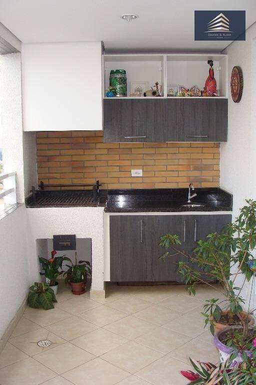 apartamento na vila augusta, residencial supremo, 108m², 2 vagas. - ap0284