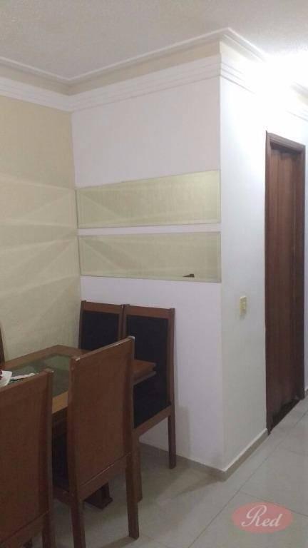 apartamento na vila urupês - suzano - ap1309