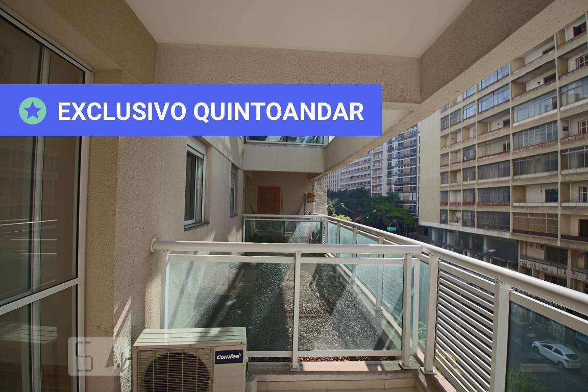 apartamento no 1º andar com 1 dormitório e 1 garagem - id: 892970250 - 270250