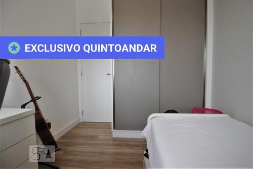 apartamento no 10º andar mobiliado com 2 dormitórios e 2 garagens - id: 892962436 - 262436