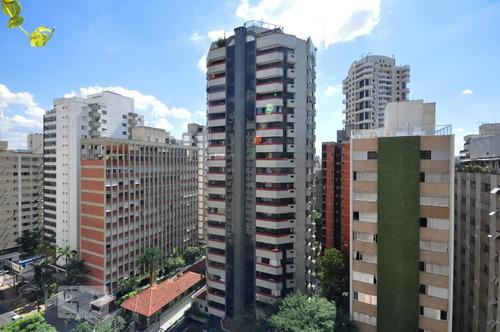 apartamento no 11º andar com 4 dormitórios e 2 garagens - id