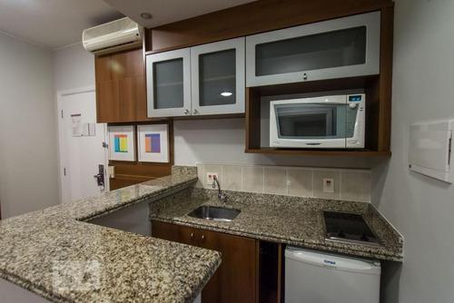apartamento no 11º andar mobiliado com 1 dormitório e 1 garagem - id: 892955202 - 255202